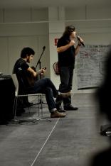 Comencem un nou dia amb l'espectacle poeticomusical d'Esteve Bosch de Jaureguízar i Toni Jiménez