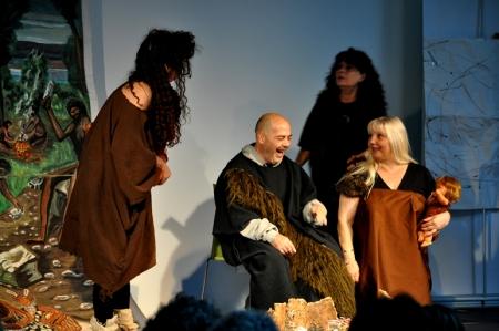 """El Club Social Andana ens va fer la seva presentació visual amb l'espectacle teatral """"Ay, que me quemo"""""""